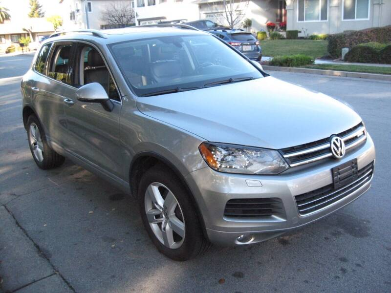 2012 Volkswagen Touareg for sale at StarMax Auto in Fremont CA