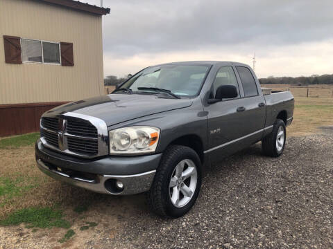2008 Dodge Ram Pickup 1500 for sale at COUNTRY AUTO SALES in Hempstead TX