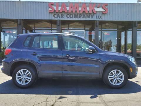 2016 Volkswagen Tiguan for sale at Siamak's Car Company llc in Salem OR