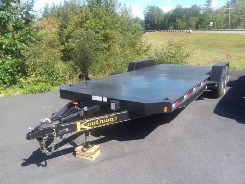 2021 Kaufman 21' Diamond Deck Car Trailer for sale at Mascoma Auto INC in Canaan NH