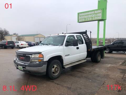 2001 GMC Sierra 3500 for sale at Independent Auto in Belle Fourche SD