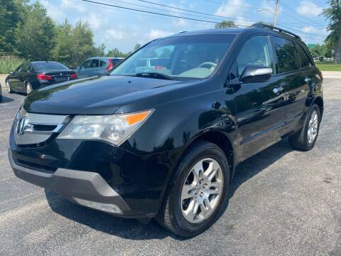 2009 Acura MDX for sale at Erie Shores Car Connection in Ashtabula OH