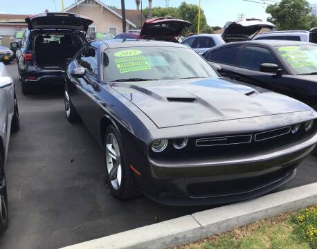 2015 Dodge Challenger for sale at Lucas Auto Center in South Gate CA