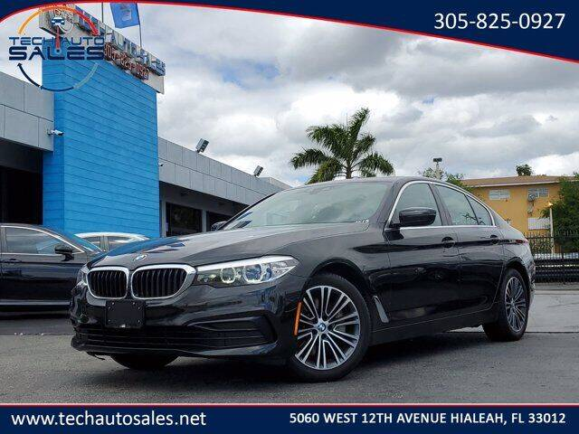 2019 BMW 5 Series for sale at Tech Auto Sales in Hialeah FL
