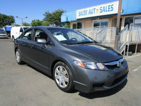2009 Honda Civic for sale at Salem Auto Sales in Sacramento CA