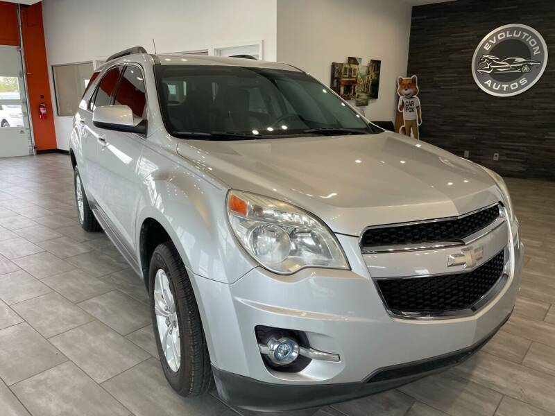 2010 Chevrolet Equinox for sale at Evolution Autos in Whiteland IN