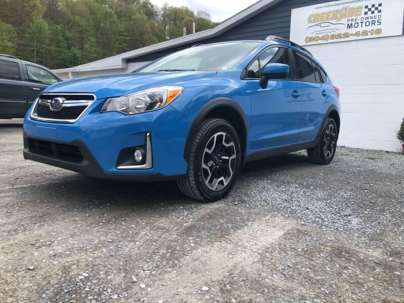 2016 Subaru Crosstrek for sale at Creekside PreOwned Motors LLC in Morgantown WV