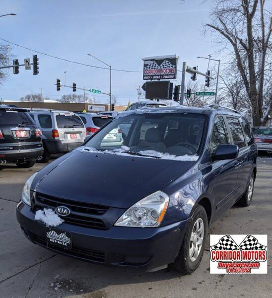 2009 Kia Sedona for sale at Corridor Motors in Cedar Rapids IA