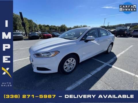 2014 Ford Fusion for sale at Impex Auto Sales in Greensboro NC