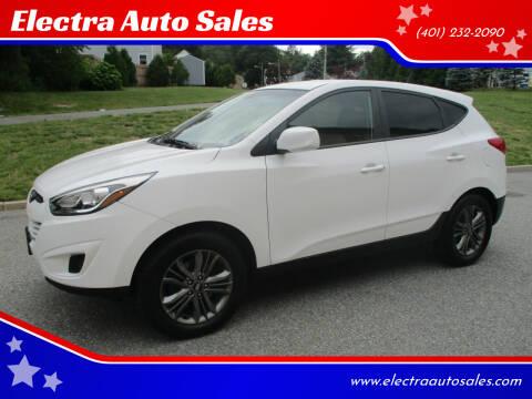 2015 Hyundai Tucson for sale at Electra Auto Sales in Johnston RI
