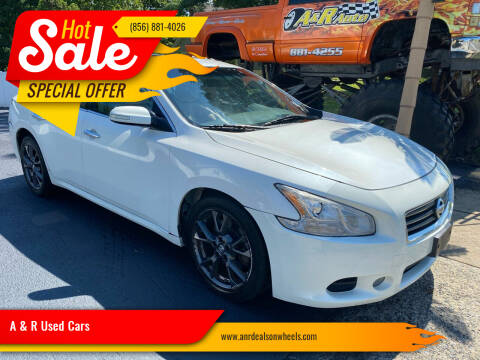 2014 Nissan Maxima for sale at A & R Used Cars in Clayton NJ