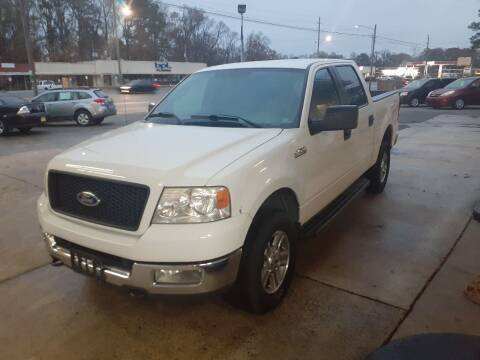 2005 Ford F-150 for sale at PIRATE AUTO SALES in Greenville NC