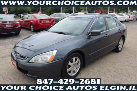 2005 Honda Accord for sale at Your Choice Autos - Elgin in Elgin IL