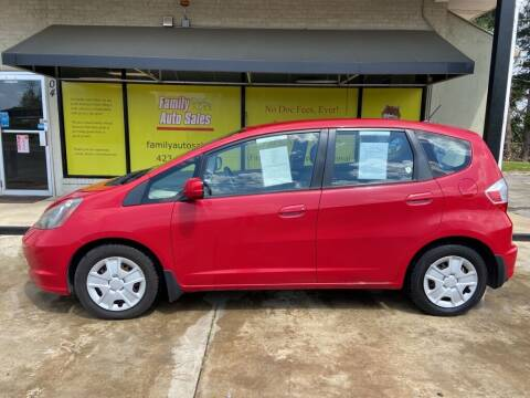 2012 Honda Fit for sale at Family Auto Sales of Johnson City in Johnson City TN