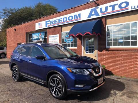 2019 Nissan Rogue for sale at FREEDOM AUTO LLC in Wilkesboro NC