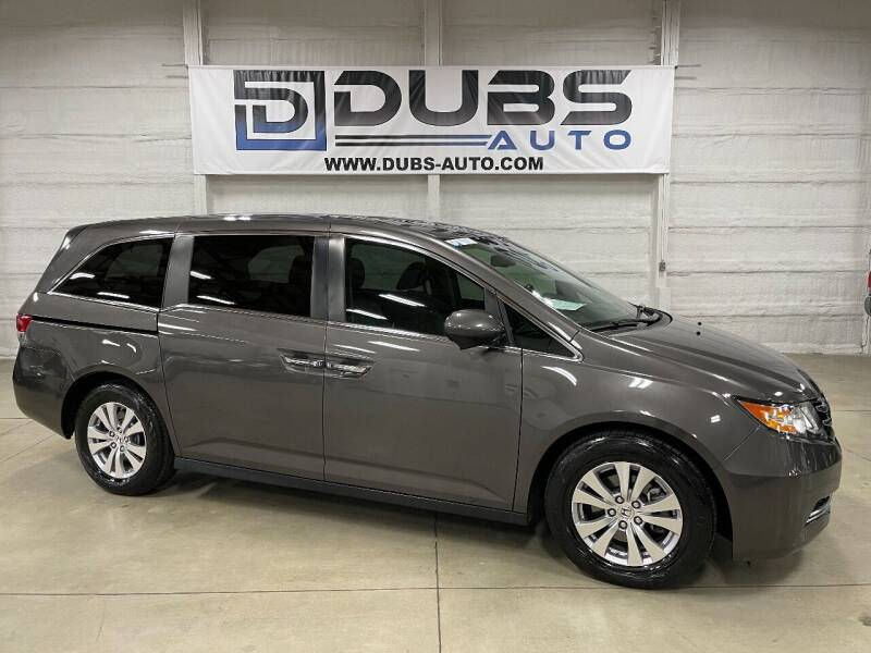 2017 Honda Odyssey for sale at DUBS AUTO LLC in Clearfield UT