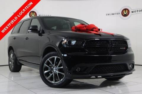 2018 Dodge Durango for sale at INDY'S UNLIMITED MOTORS - UNLIMITED MOTORS in Westfield IN