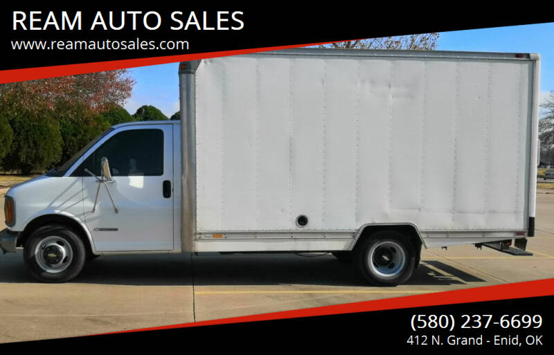 2001 Chevrolet Express Cutaway for sale at REAM AUTO SALES in Enid OK