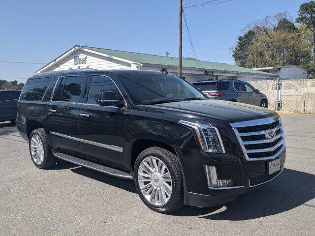 2018 Cadillac Escalade ESV for sale at Best Used Cars Inc in Mount Olive NC