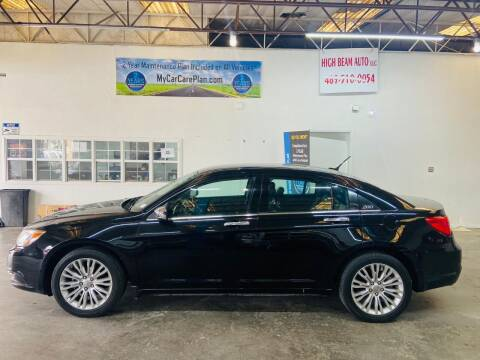 2012 Chrysler 200 for sale at High Beam Auto in Dallas TX