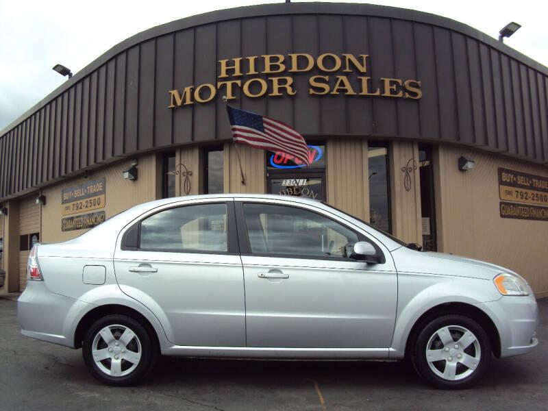 2011 Chevrolet Aveo for sale at Hibdon Motor Sales in Clinton Township MI