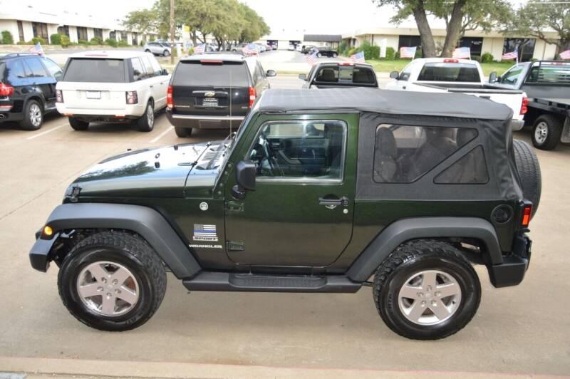 2011 Jeep Wrangler 4x4 Sport 2dr SUV - Dallas TX