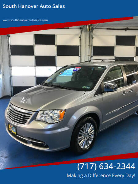 2015 Chrysler Town and Country for sale at South Hanover Auto Sales in Hanover PA