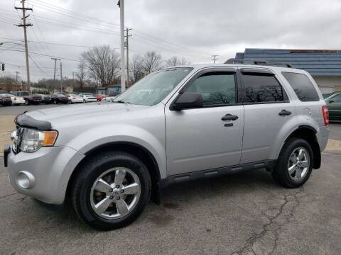 2010 Ford Escape for sale at COLONIAL AUTO SALES in North Lima OH