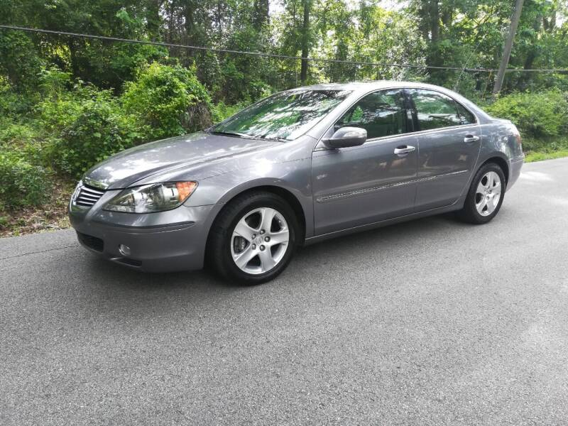 2007 Acura RL for sale at Low Price Autos in Beaumont TX