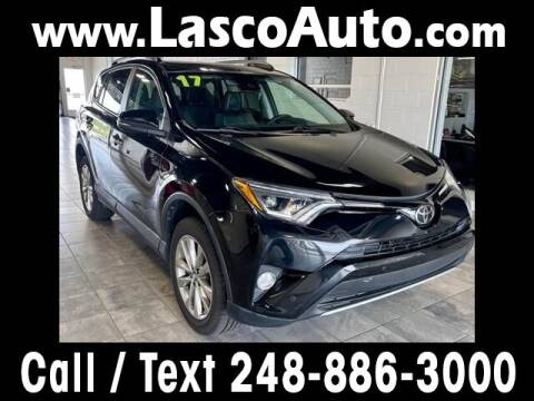 2017 Toyota RAV4 for sale at Lasco of Waterford in Waterford MI