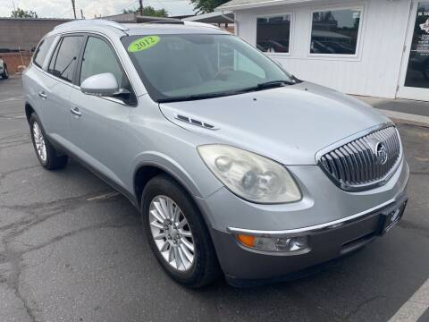 2012 Buick Enclave for sale at Robert Judd Auto Sales in Washington UT