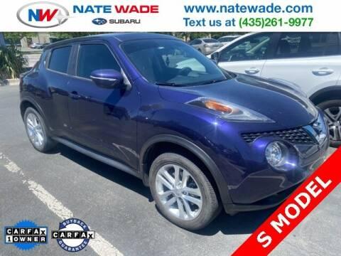 2016 Nissan JUKE for sale at NATE WADE SUBARU in Salt Lake City UT