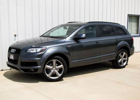2015 Audi Q7 for sale at Lyman Auto in Griswold IA
