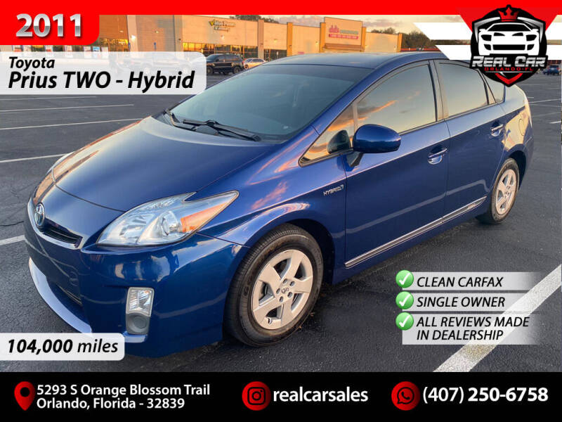 2011 Toyota Prius for sale at Real Car Sales in Orlando FL