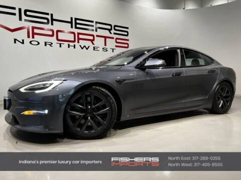 2021 Tesla Model S for sale at Fishers Imports in Fishers IN