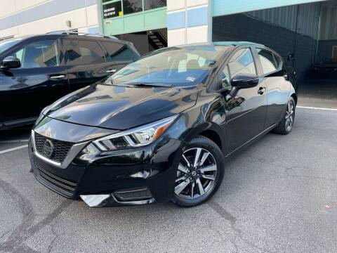 2021 Nissan Versa for sale at Best Auto Group in Chantilly VA