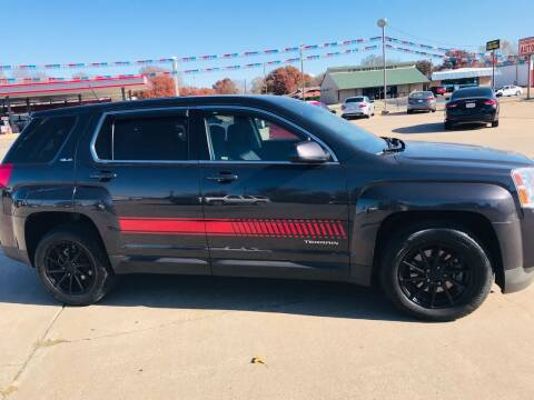 2014 GMC Terrain for sale at Pioneer Auto in Ponca City OK
