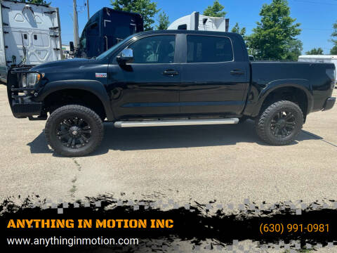 2008 Toyota Tundra for sale at ANYTHING IN MOTION INC in Bolingbrook IL