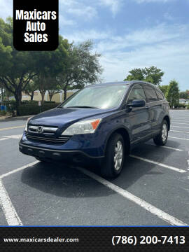 2007 Honda CR-V for sale at Maxicars Auto Sales in West Park FL