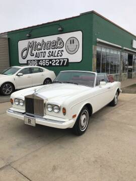 1985 Rolls-Royce Corniche for sale at MICHAEL'S AUTO SALES in Mount Clemens MI
