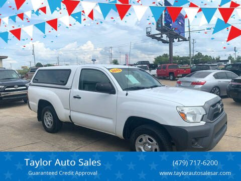 2013 Toyota Tacoma for sale at Taylor Auto Sales in Springdale AR