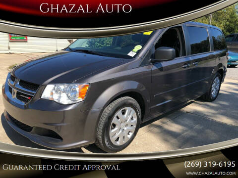2015 Dodge Grand Caravan for sale at Ghazal Auto in Sturgis MI