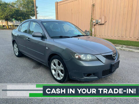 2008 Mazda MAZDA3 for sale at Horizon Auto Sales in Raleigh NC