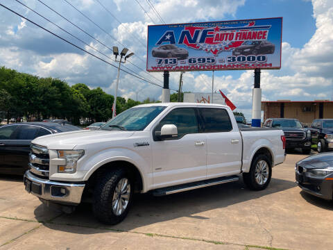 2015 Ford F-150 for sale at ANF AUTO FINANCE in Houston TX