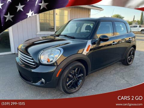 2011 MINI Cooper Countryman for sale at Cars 2 Go in Clovis CA