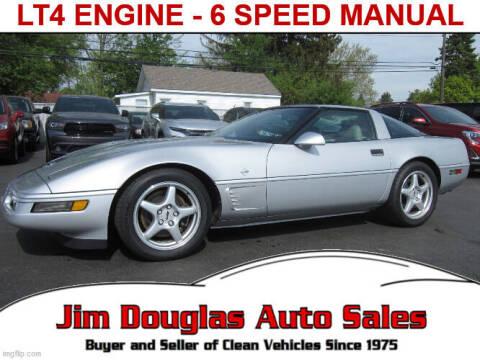 1996 Chevrolet Corvette for sale at Jim Douglas Auto Sales in Pontiac MI