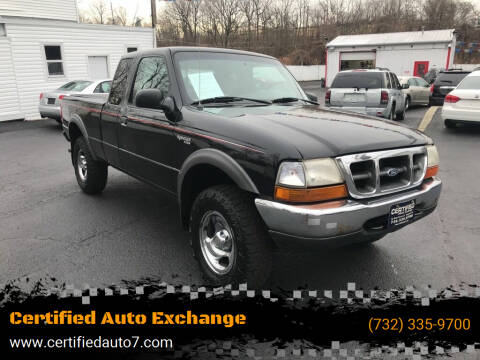 2000 Ford Ranger for sale at Certified Auto Exchange in Keyport NJ