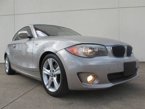 2012 BMW 1 Series for sale at QUALITY MOTORCARS in Richmond TX