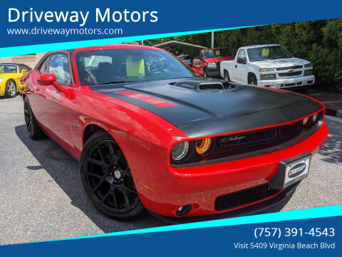 2015 Dodge Challenger for sale at Driveway Motors in Virginia Beach VA