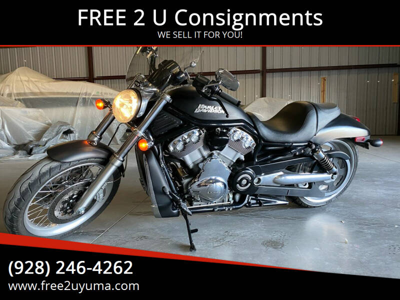 2009 Harley-Davidson VRod Vrsca for sale at FREE 2 U Consignments in Yuma AZ